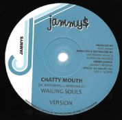 Wailing Souls - Chatty Mouth / version / Dennis Brown - Now & Forever / version (Jah Fingers) 12""